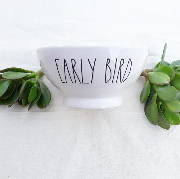 Rae Dunn Other - 🕊 NWT Rae Dunn EARLY BIRD Bowl